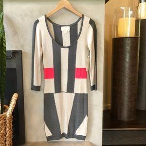 Nicole Miller Atelier Sweater Dress